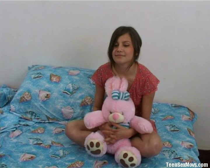 Unseen clip with this innocent russian girl. EPIC
