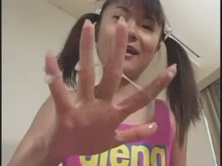 Little japanese teen Kanae. MUST SEE!