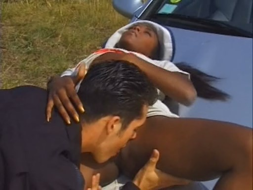 Tiny black cutie fucked hard by her lucky boyfriend. MUST SEE!