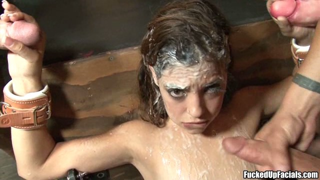 Sweetie got abused by three guys. MUST SEE!