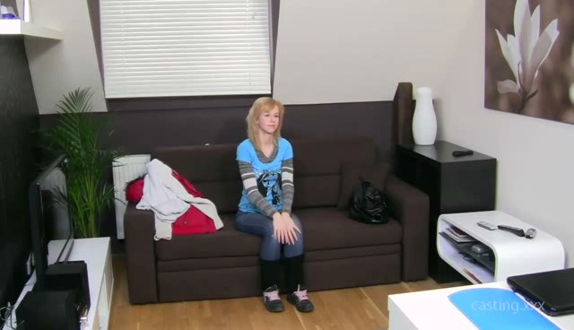 Adorable barely legal teenage girl audition. MUST SEE!