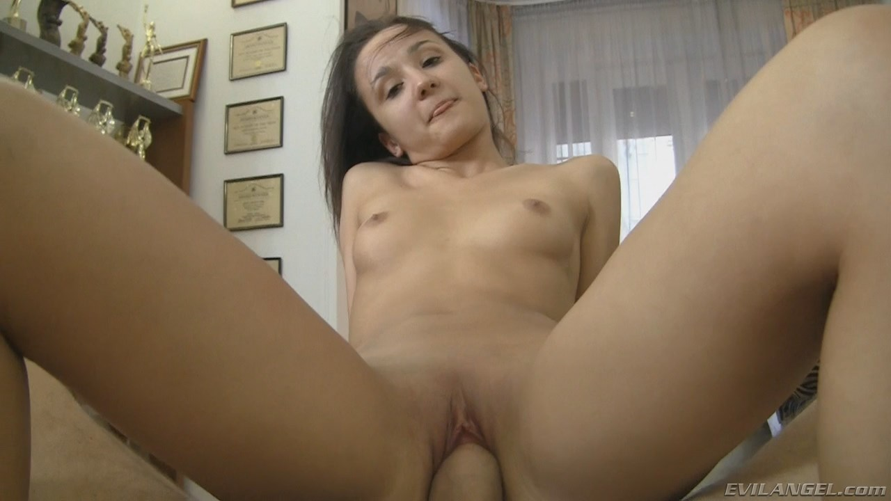Adorable little sweetie from eastern Europe fucked on audition