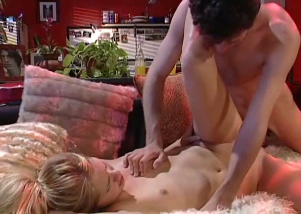 Innocent flat Kylie gets her both tight holes penetrated. EPIC CLIP!