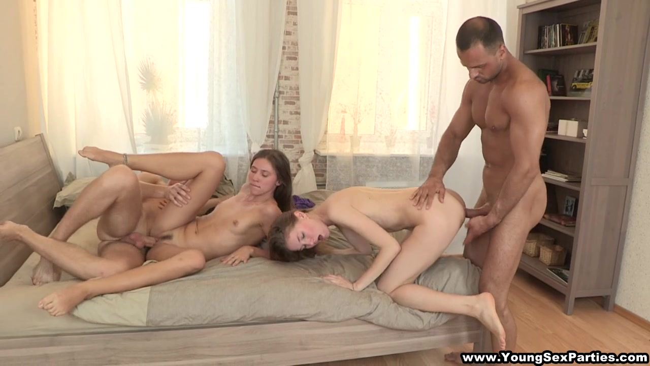 Naughty students hot foursome. MUST SEE!