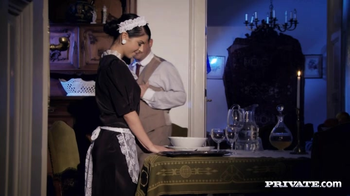 Hot young maid penetrated. MUST SEE!
