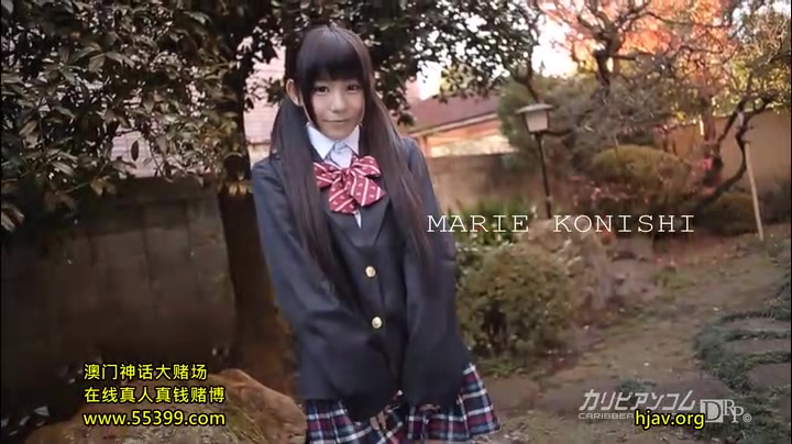 One more EPIC clip with tiny 148 cm teen model Marie Konishi