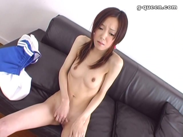 Another amazing clip with this little slim schoolgirl posing naked