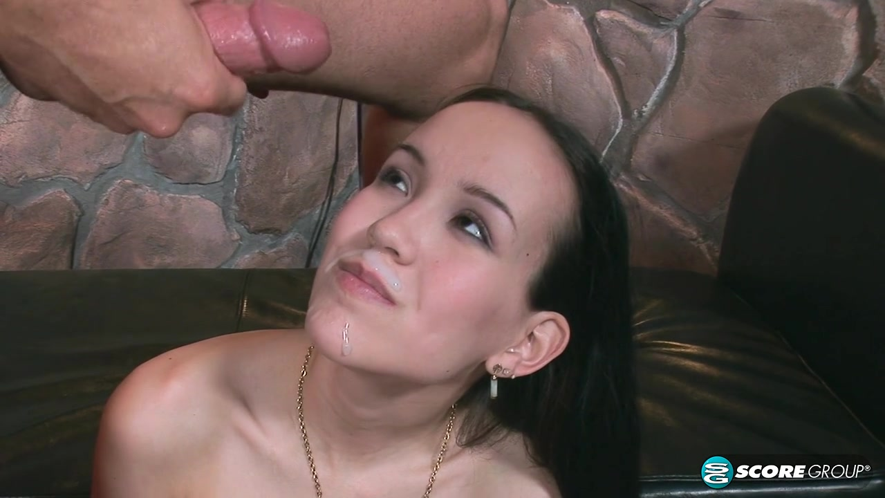 Little asian slut Amai enjoying big cock in her tiny pussy