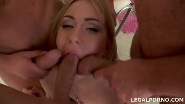 Girl fucked and creampied