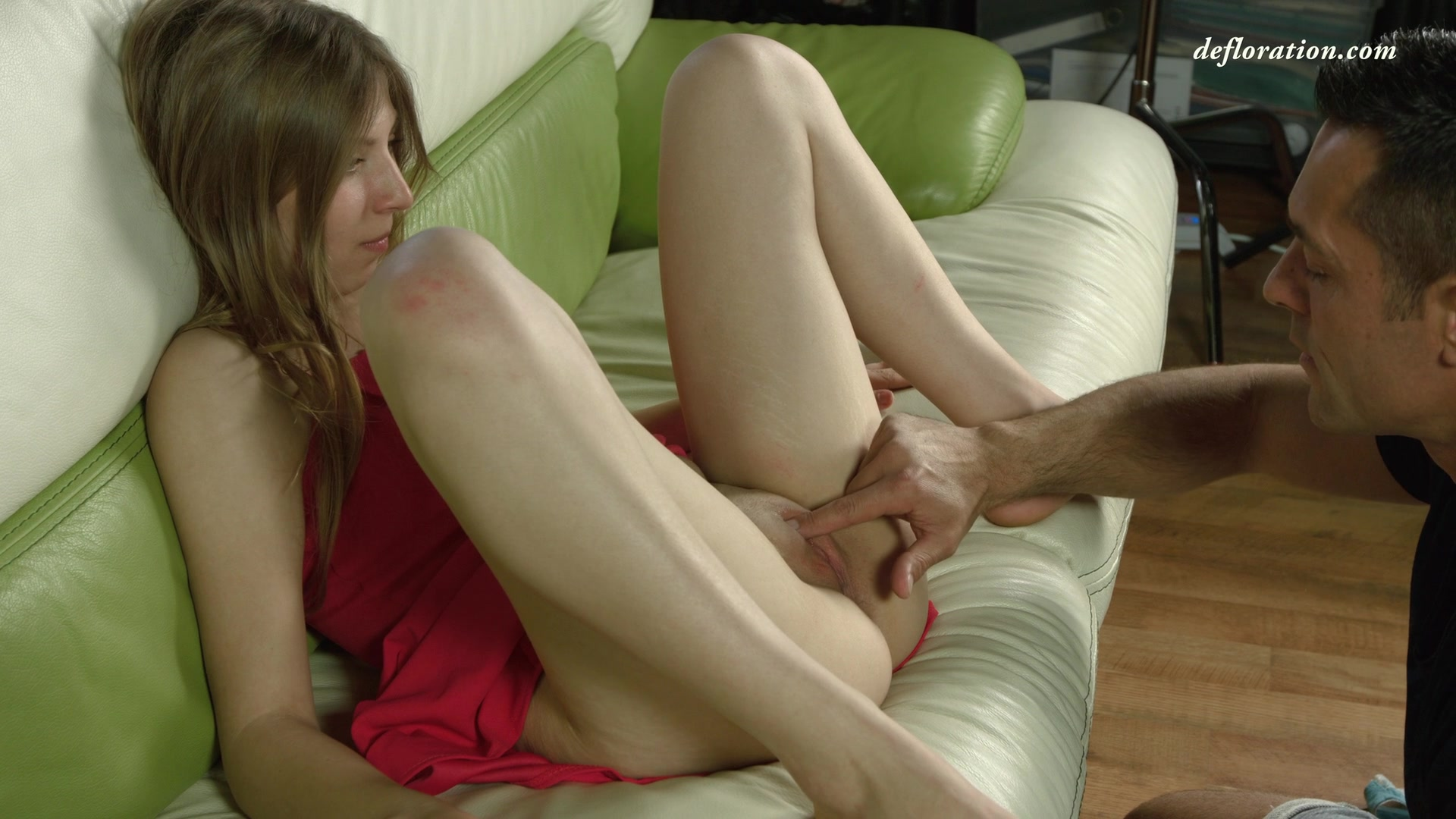 Russian girl defloration