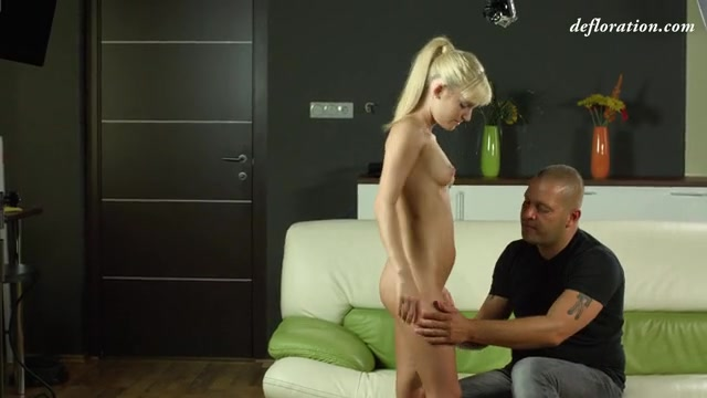Skinny girl defloration