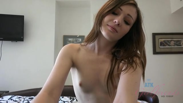Emma playing with cock