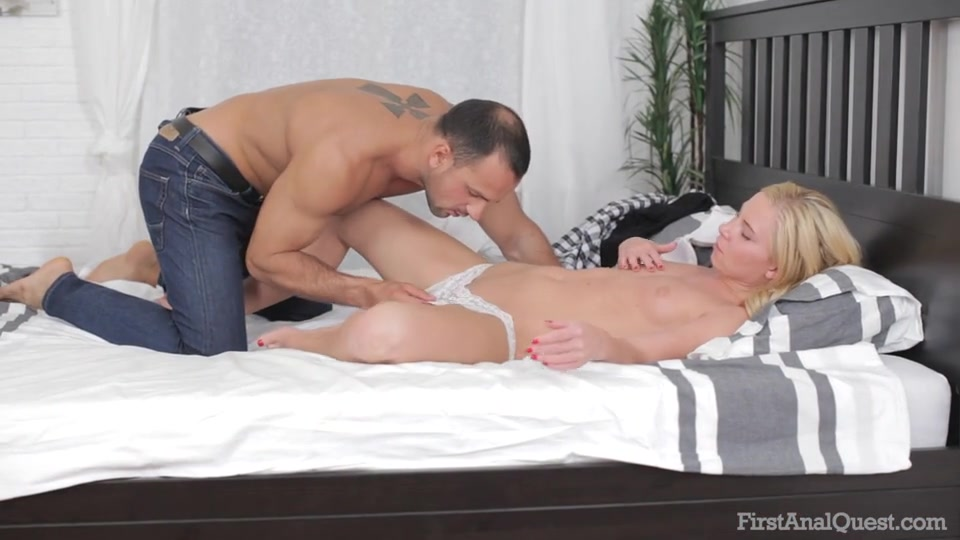 Blonde Milf First Time Anal