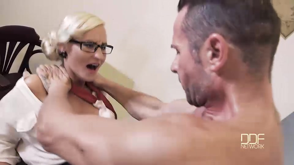 Judgement day sexy lawyer negotiates double penetration 2