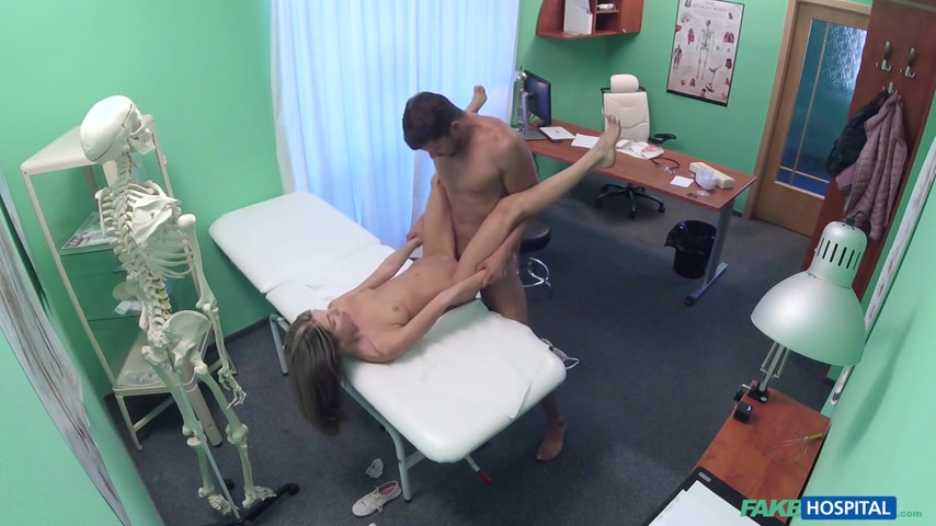 {FakeHospital } Gina Gerson - Shy Russian Cured by Cock Treatment.....(03 December 2016).........P4U.......