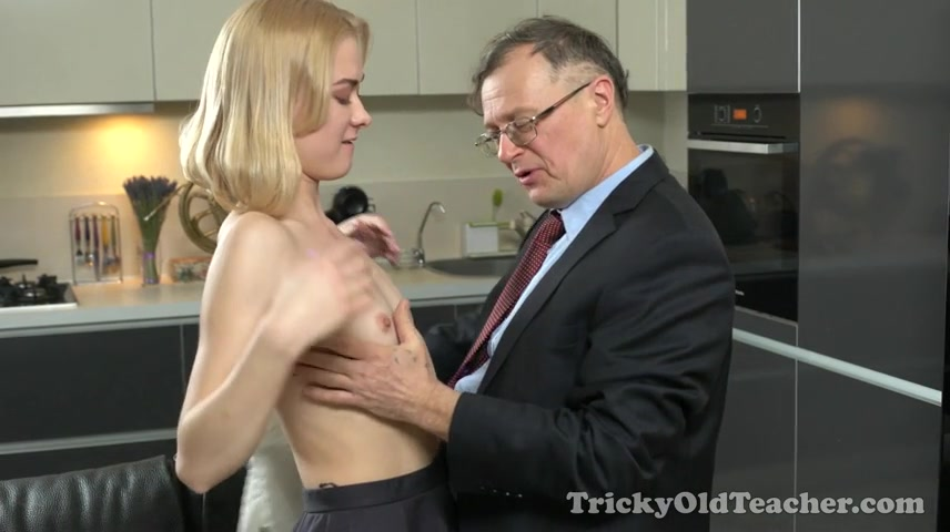 Via Lasciva - Old teacher treats her sexy student properly