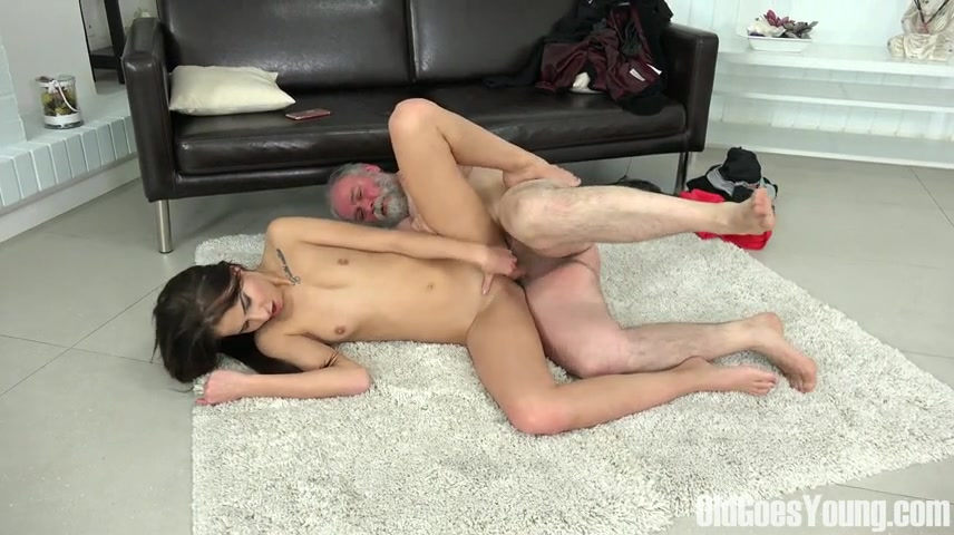 Selena Mur - Sweet brunette shows her virgin body and naughty mind