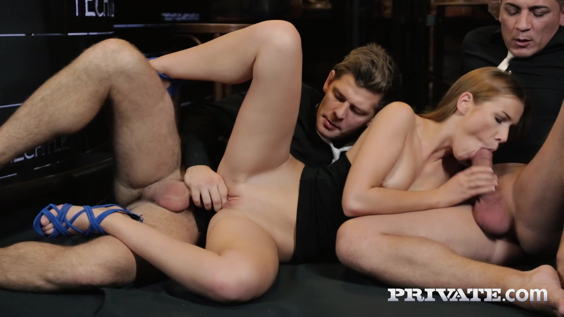 Alexis Crystal - And Two Hung Waiters Have a DP Trio in a Bar
