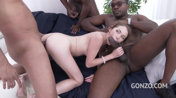 Angel Smalls - Angel Smalls Interracial Double Anal