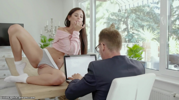 Little Caprice - He cant resist her