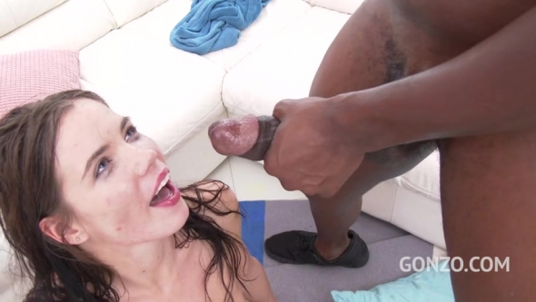 Lovenia Lux - Lovenia Lux Ass Fucked By Three Massive Black Cocks
