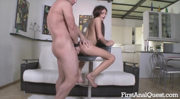 Kate Rich - Sexy Kate Rich gaping anal on camera
