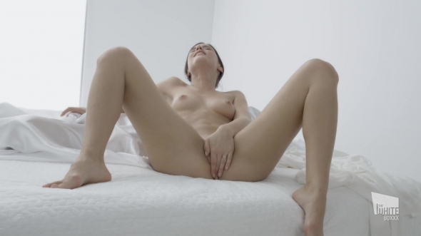Caprice - Beautiful Czech Little Caprice orgasms in solo next to sleeping lover Pt.1
