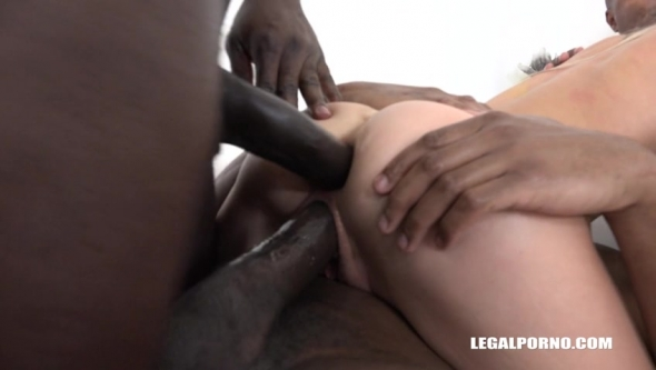 Gina Gerson - Gina Gerson Comes To Try Three Black Cocks