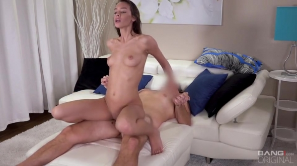 Charity Crawford - Charity Crawford Gets Her Petite Pussy Stretched Outdoors