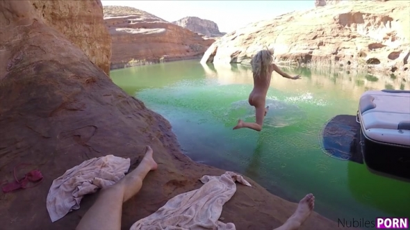 Gina Valentina, Haley Reed, Kenzie Reeves, Piper Perri - Spring Break Lake Powell 3