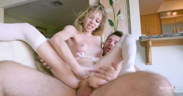 Angel Smalls - Angel Smalls Goes Gonzo For Fisting And Sperm Showers