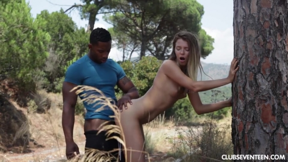 Mary Kalisy - Teen fucked by black soccer player