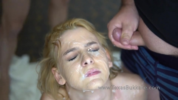 Tori Brookes - Toris 1st Gangbang and Bukkake Facial