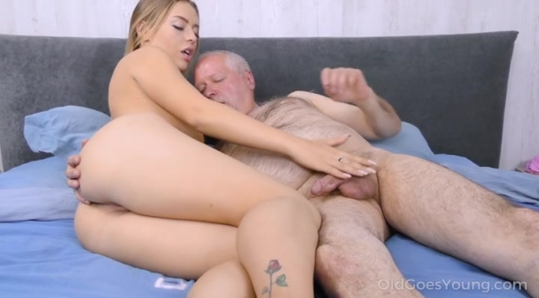Daniella Margot - Experienced man cures cutie with sex