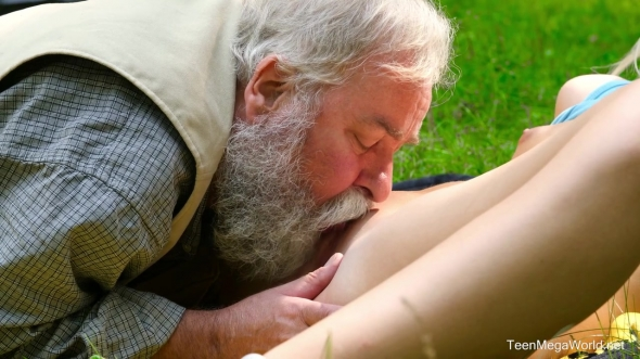 Lovita Fate - Mushroom Hunter Picks up Blonde Pussy