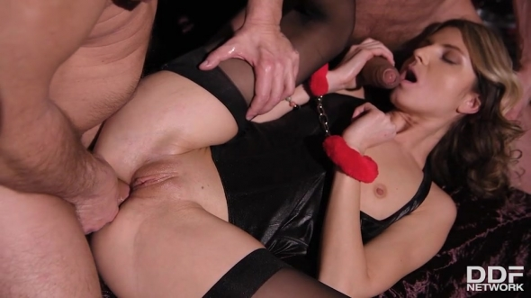 Gina - Submitting to Double Penetration