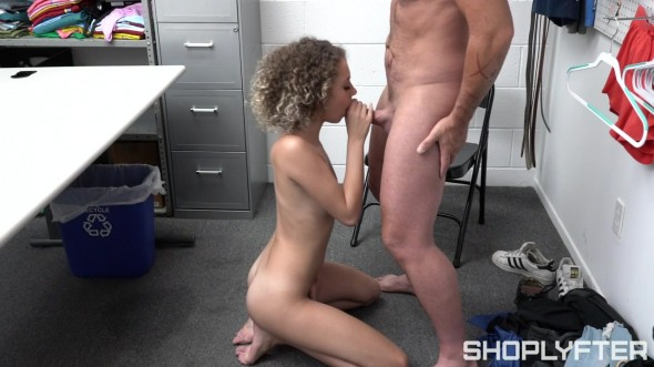 Security officer Rusty Nails has caught another shoplifter in the act 720p