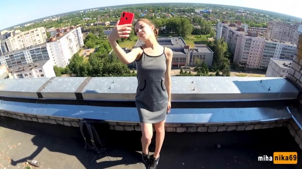 Outdoor POV on the roof 1080p