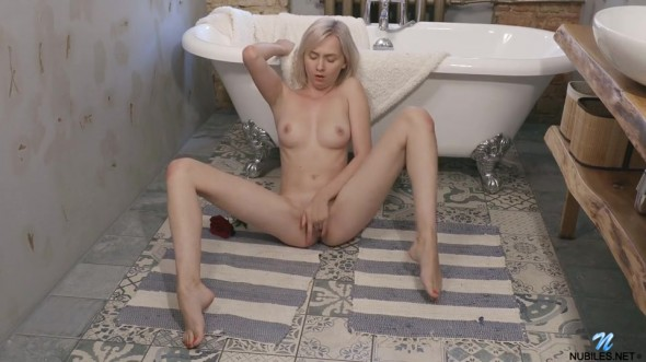 She can t wait to start masturbating so that she can taste her own juices as a climax pulses through her