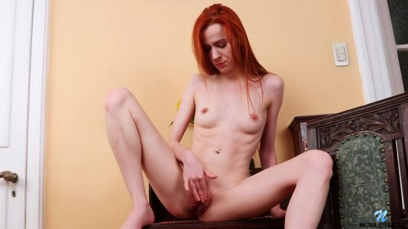 Wild and crazy redhead