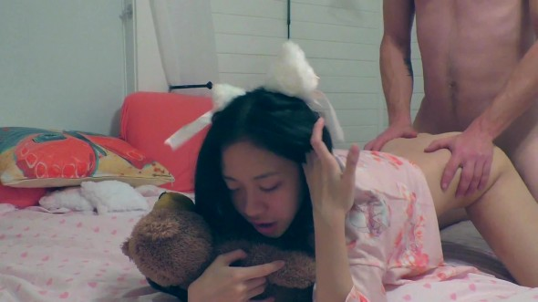 Lucky guy cams twice into this tight little pussy 1080p