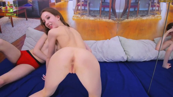 Passionate sex with a charming young girl