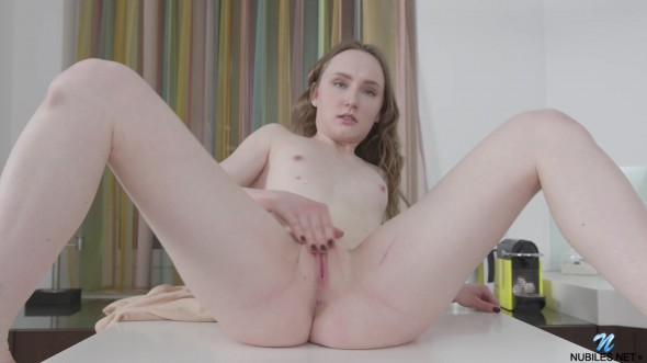 Hot solo in the kitchen 1080p