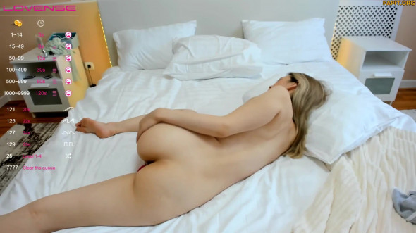 She s waiting for your in her bedroom