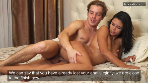 Her first anal 1080p
